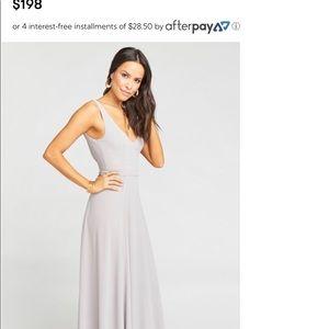 Show Me Your Mumu Jenn Maxi Bridesmaid Dress